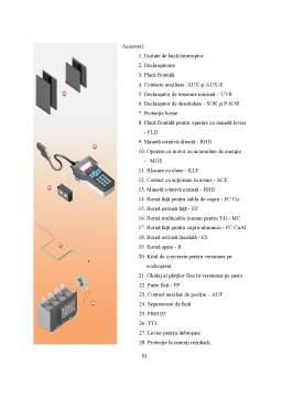 Licență - Studiul și verificarea rezistenței de contact la întrerupătoarele automate de joasă tensiune