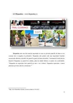 Proiect - Analiza comparativa a site-urilor de comert electronic