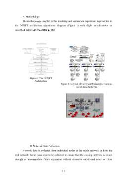Proiect - Modelling and traffic analysis of a lan network în opnet