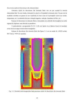 Licență - Studiu numeric și experimental al electromagnetului cu plonjor