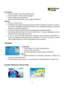 Proiect - Monografie Bancara - Raiffeisen Bank