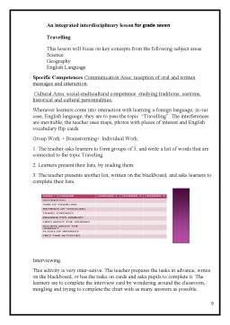 Proiect - Raport de activitate a profesorului