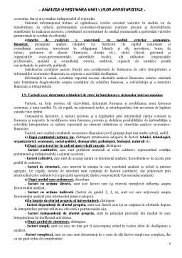 Curs - Analiza și gestiunea unităților agroturistice