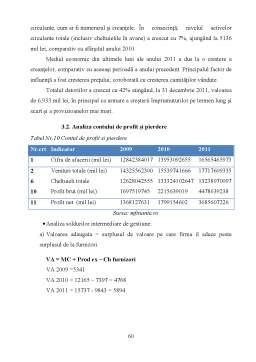 Licență - Analiza echilibrului financiar în cadrul SC Petrom