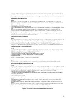 Curs - Regulament de Functionare