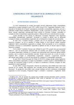 Referat - Combaterea criminalității organizate