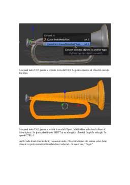 Curs - 3D Design - Bugle