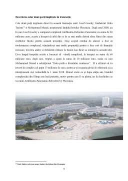 Proiect - Tranzactii hoteliere