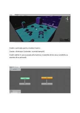 Referat - Crearea unui joc 3D