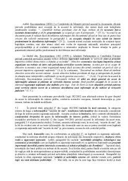 Curs - Legislație și accesul la informația publică