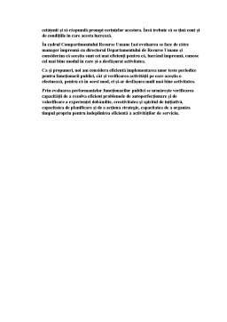 Proiect - Analiza performantelor angajatilor publici in administratia publica