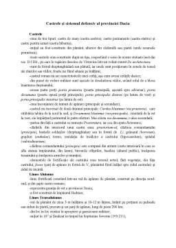 Curs - Dacii si Romanii