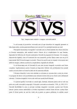 Referat - Grafica rastru și grafica vectorială