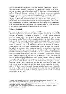 Seminar - Rolul doctrinei în aplicarea normelor juridice în sistemul de drept românesc