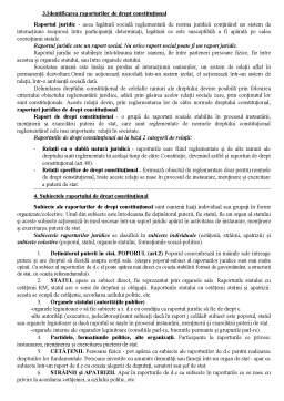 Curs - Bazele dreptului constitutional - definitii, teorii, bazele statului si dreptului
