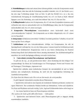 Referat - Phraseologismen und ihre Besonderheiten