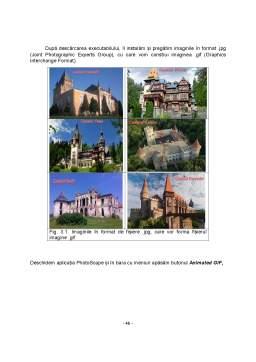 Proiect - Castele din România - Pagină web