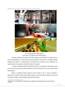 Licență - Regenerarea și dezvoltarea arhitecturii industiale în centrele urbane