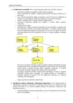 Curs - Ingineria programării
