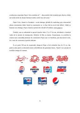 Proiect - Analiza strategiei de internaționalizare a firmei PepsiCo