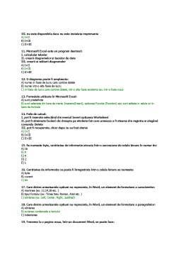 Notiță - Elemente de tehnologia informatiei I