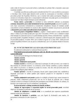 Curs - Note de curs drept penal și procesual