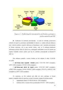 Disertație - Conceptul de promovare a exportului și marketingul acestuia la nivel național