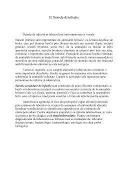 Referat - Manifestările clinice și anatomo-patologice ale zoonozelor la animale și om - Tuberculoză