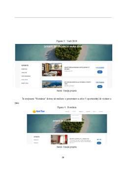 Licență - Proiectarea și dezvoltarea unui site interactiv de prezentare pentru o agenție de turism - Axel Tour
