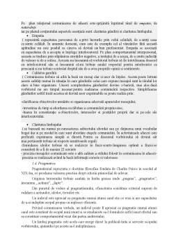 Referat - Comunicare persuasivă - Comunicare orală și scrisă
