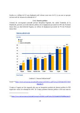 Disertație - Integrarea monetară în Europa - Analiza studiului și perspective