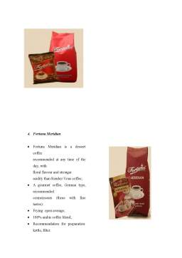 Proiect - Export strategy for Fortuna Coffee