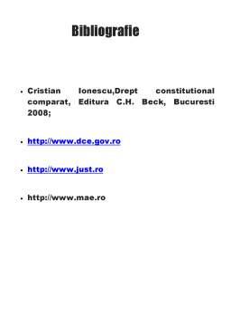Referat - Drept constituțional
