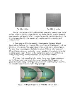 Proiect - Vacuum casting technology