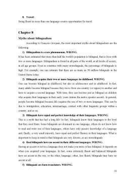 Referat - Sociolinguistics - bilingualism and bilinguals