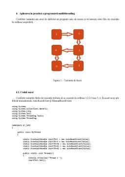 Laborator - Programare multi-threading