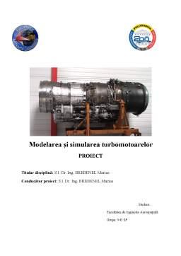 Proiect - Simulare motor turboreactor