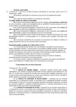 Seminar - Contractul de concesiune