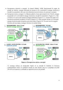 Referat - Dezvoltarea unui sistem hibrid pentru autovehiculele cu motor termic