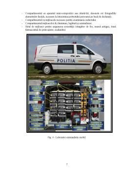 Laborator - Tezele generale ale tehnicii criminalistice