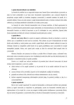 Curs - Piata bursiera - definitie, caracteristici, functii