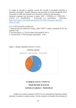 Licență - Politici și practici contabile privind Trezoreria - studiu de caz pentru o societate din România