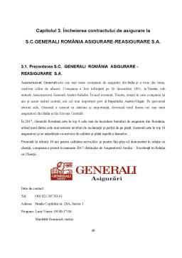 Proiect - Contract de asigurare