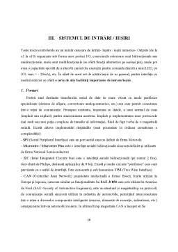 Proiect - Familia de microcontrolere S12 (XA)