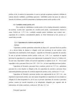 Curs - Actul juridic civil