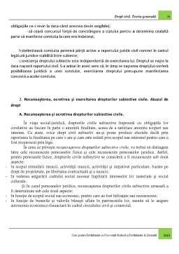 Curs - Drept civil - Teoria generala