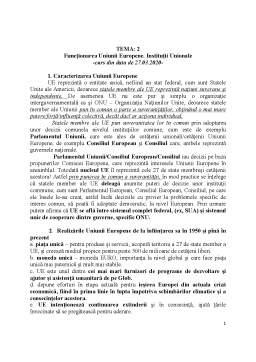 Curs - Dreptul Uniunii Europene