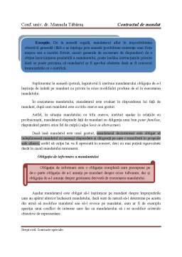 Curs - Contract de mandat