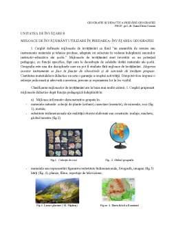 Curs - Geografie și didactica predării geografiei