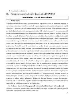 Referat - Contractul de vânzare internațională - Negocierea prețului